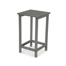 "Slate Grey Long Island 26"" Counter Side Table"