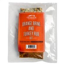 Orange Brine and Turkey Rub Kit