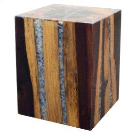 Crystal Cube Table, Piano Finish