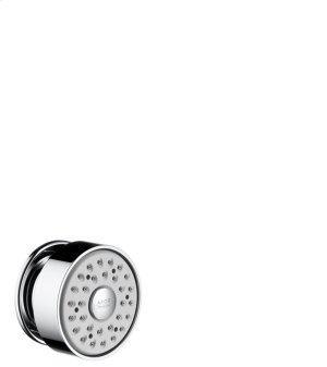 Chrome Body shower round 1jet Product Image