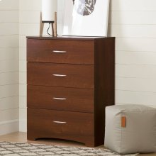 4-Drawer Chest Dresser - Sumptuous Cherry