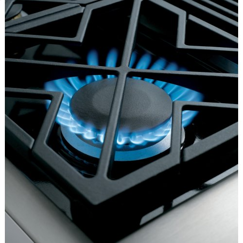 "Monogram 48"" All Gas Professional Range with 6 Burners and Griddle (Liquid Propane)"
