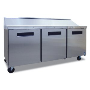 HoshizakiRefrigerator, Three Section Sandwich Top Prep Table