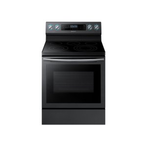 Samsung5.9 cu. ft. Freestanding Electric Range with True Convection and Steam Assist