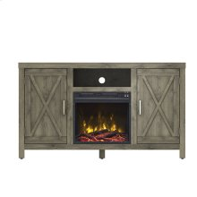 Humboldt TV Stand with Electric Fireplace