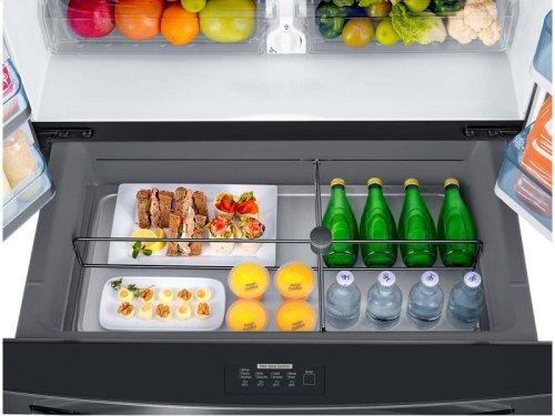 22 cu. ft. Counter Depth 4-Door French Door Food Showcase Refrigerator