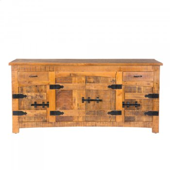 Mango Wood Side Board Product Image