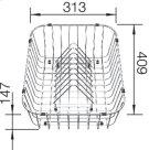 Crockery Basket - 507829 Product Image