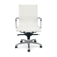Omega Office Chair Low Back White-m2