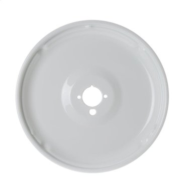 Range Gas Porcelain Medium Burner Bowl - White Medium