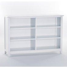 Horizontal Bookcase (White)