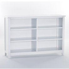 Horizontal Bookcase (White)