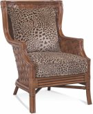 Abella Wicker Wing Chair Product Image