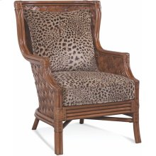 Abella Wicker Wing Chair