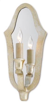 Protocol Silver Wall Sconce