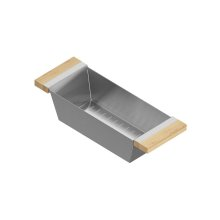 Colander 205323 - Stainless steel sink accessory , Maple