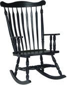 Colonial Rocker Antique Black Product Image