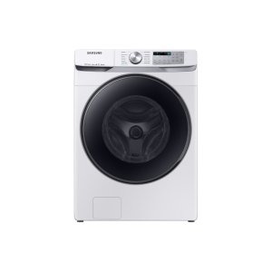 5.0 cu. ft. Smart Front Load Washer with Super Speed in White - WHITE