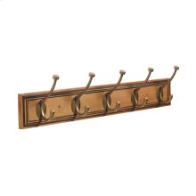 27in(686mm) 5 Hook Hook Rack
