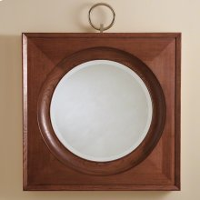 Ring Mirror-Dark Oak