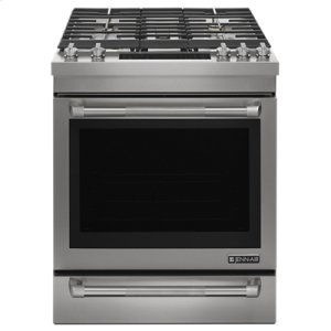 "Jenn-AirPro-Style® 30"" Slide-In Gas Range"