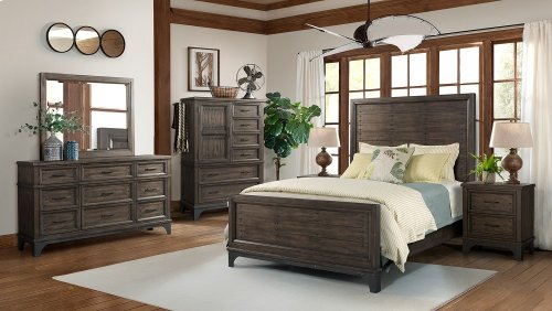 Whiskey River King Size Bed