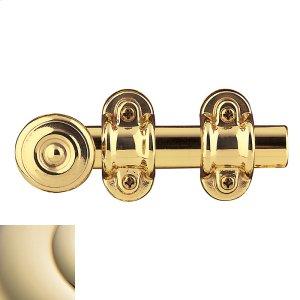 Lifetime Polished Brass Ornamental Heavy Duty Surface Bolt Product Image