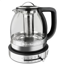 1.5 L Glass Tea Kettle - Stainless Steel