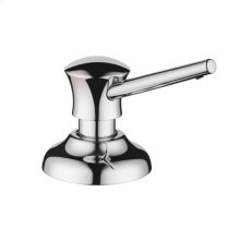 Chrome Soap Dispenser, Traditional
