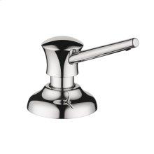 Chrome Soap Dispenser, Traditional
