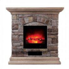 Large-size Juna Faux Stone Fireplace