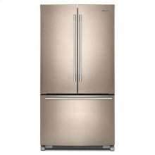 Whirlpool® 36-inch Wide French Door Refrigerator with Crisper Drawer - 25 cu. ft. - Print Resist Sunset Bronze