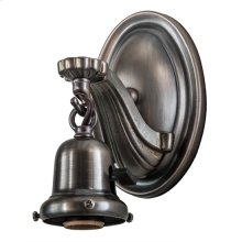 """4""""W Revival 1 LT Wall Sconce Hardware"""