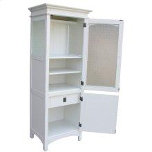 Dover Curio Cabinet - Wht