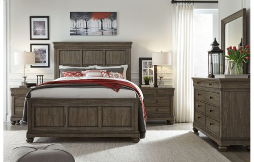 Hartland Hills Complete Panel Bed, Queen 5/0
