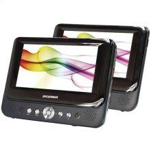 "9"" Dual-Screen Portable DVD Player"