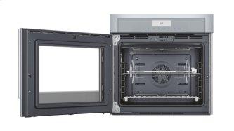 """30"""" Masterpiece™ Series Single Built-In Oven, Left Side Swing Door MED301LWS"""
