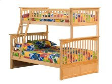 Columbia Bunk Bed Twin over Full in Natural