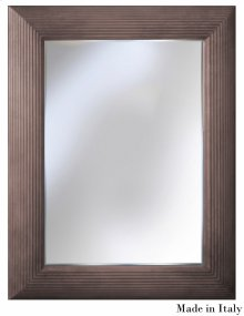 Virna Mirror, Gray Quartz Finish