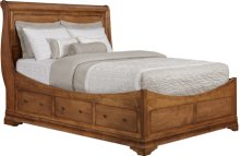 Versailles Euro Storage Bed Twin