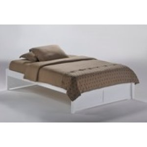 K-Series Basic Bed in White Finish