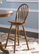 30 Inch Arrow Back Barstool Product Image