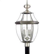 Newbury Silver Outdoor Lantern