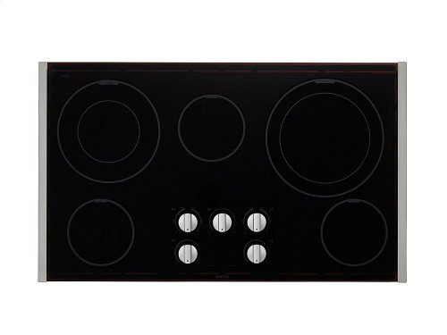 36-inch Wide Electric Cooktop with Dual-Choice Elements [OPEN BOX]