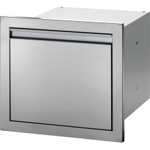"18"" X 16"" Large Single Drawer , Stainless Steel"