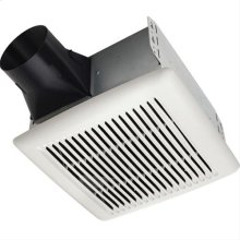 Flex DC Series Humidity Sensing Bathroom Exhaust Fan with selectable CFM Settings