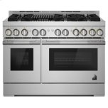 "JENN-AIRRISE 48"" Gas Professional-Style Range with Grill"