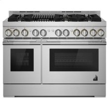 "48"" RISE Gas Professional-Style Range with Infrared Grill"
