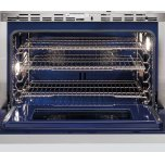 "Wolf 36"" Dual Fuel Range - 4 Burners And Infrared Griddle"