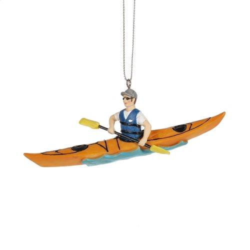 Kayaking Ornament. (12 pc. ppk.)